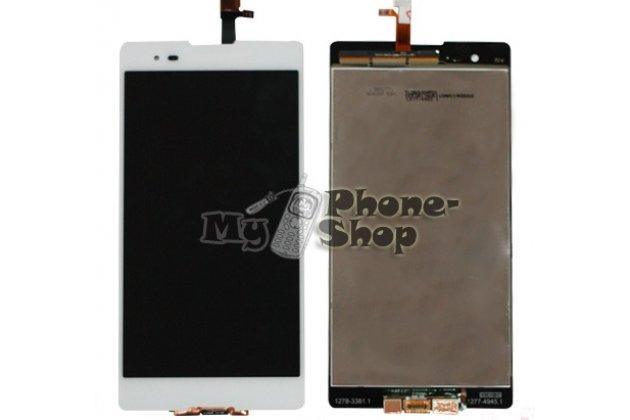 Lcd-жк-сенсорный дисплей-экран-стекло с тачскрином на телефон sony xperia t2 ultra/ t2 ultra dual d5303/d5322 белый + гарантия