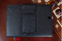 Фирменный чехол со съёмной Bluetooth-клавиатурой для Sony Xperia Z3 Tablet Compact (SPG611/SGP621RU) черный кожаный + гарантия