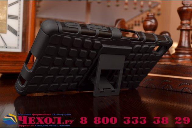 Противоударный усиленный ударопрочный чехол-бампер-пенал для sony xperia z5 / z5 dual sim e6603/e6633 5.2 черный