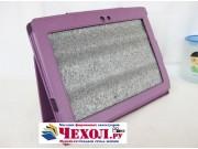 Чехол-обложка для Sony Tablet S фиолетовый кожаный..