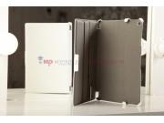 Фирменный чехол для Sony Xperia Tablet Z с мульти-подставкой и держателем для руки белый кожаный