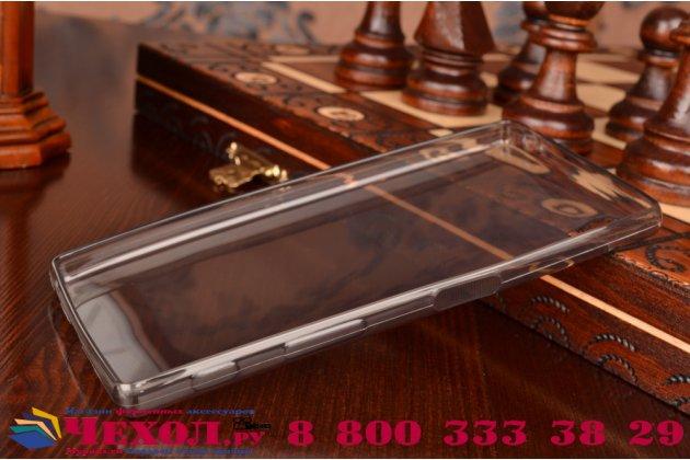 Ультра-тонкая полимерная из мягкого качественного силикона задняя панель-чехол-накладка для sony xperia z5 / z5 dual sim e6603/e6633 5.2 черная
