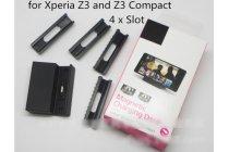 Оригинальная магнитная usb зарядная база/док-станция dk48 для телефона sony xperia z3 d6603/ z3 dual d6633 / l55u / sony xperia z3 compact / mini / d5803 / d5833 /m55w