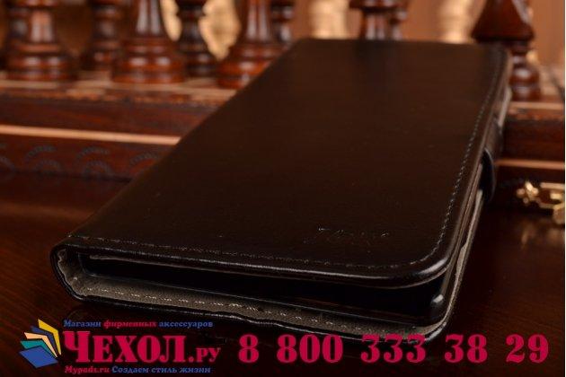 Чехол-книжка из качественной импортной кожи с подставкой и застежкой для sony xperia c3/c3 dual sim d2533 /d2502 /s55t/ s55u черный