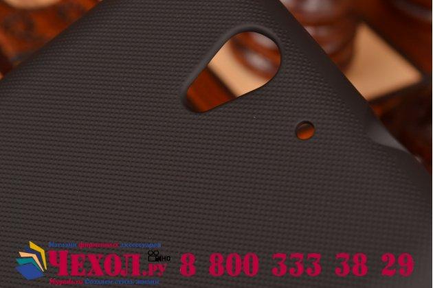 Задняя панель-крышка-накладка из тончайшего и прочного пластика для sony xperia c3/c3 dual sim d2533 /d2502 /s55t/ s55u черная