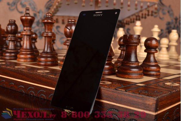 Lcd-жк-сенсорный дисплей-экран-стекло с тачскрином на телефон sony xperia z3 compact d5803 черный + гарантия