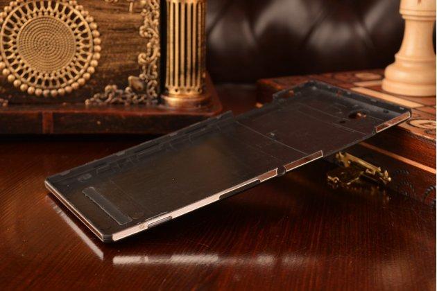 Родная задняя крышка-панель которая шла в комплекте для sony xperia c3/c3 dual sim d2533/d2502/s55t/s55u черная