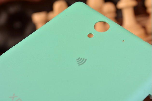 Родная задняя крышка-панель которая шла в комплекте для sony xperia c3/c3 dual sim d2533/d2502/s55t/s55u зеленая