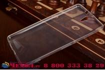 """Ультра-тонкая полимерная из мягкого качественного силикона задняя панель-чехол-накладка для sony xperia c5 ultra / c5 ultra dual e5533 e5563/ t4 ultra 6.0"""" белая"""
