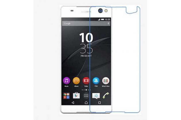 "Защитная пленка для телефона sony xperia c5 ultra / c5 ultra dual e5533 e5563/ t4 ultra 6.0"" глянцевая"
