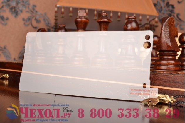 """Защитное закалённое противоударное стекло премиум-класса из качественного японского материала с олеофобным покрытием для sony xperia c5 ultra / c5 ultra dual e5533 e5563/ t4 ultra 6.0"""""""