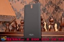 """Задняя панель-крышка-накладка для sony xperia c5 ultra / c5 ultra dual e5533 e5563/ t4 ultra 6.0"""" из тончайшего и прочного пластика с нескользящим покрытием черная"""