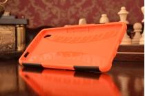 """Противоударный усиленный ударопрочный чехол-бампер-пенал для sony xperia c6 / c6 ultra / xa ultra 6.0"""" (f3212 /f3216) оранжевый"""