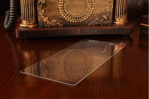 """Защитное закалённое противоударное стекло премиум-класса из качественного японского материала с олеофобным покрытием для телефона sony xperia c6 / c6 ultra / xa ultra 6.0"""" (f3212 /f3216)"""