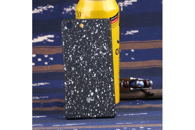 """Необычная элитная пластиковая задняя панель-накладка для sony xperia m5 e5603/ m5 dual e5633 тематика """"космос"""" черная"""