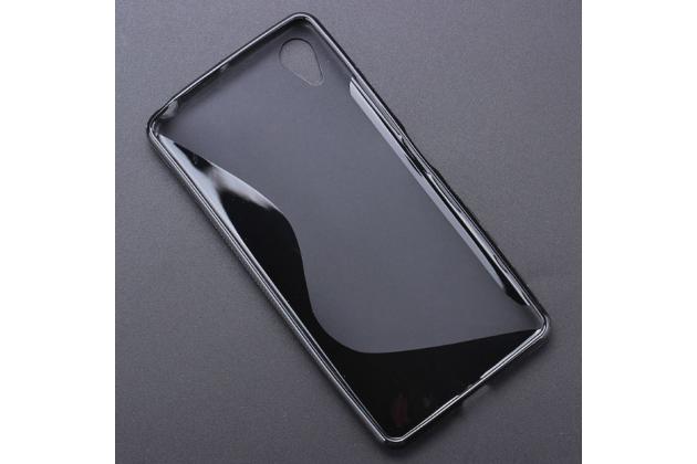 """Ультра-тонкая полимерная из мягкого качественного силикона задняя панель-чехол-накладка для sony xperia x performance/ x performance dual 5.0"""" (f8131/ f8132) черная"""