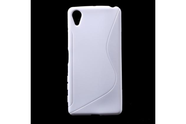 """Ультра-тонкая полимерная из мягкого качественного силикона задняя панель-чехол-накладка для sony xperia x performance/ x performance dual 5.0"""" (f8131/ f8132) белая"""