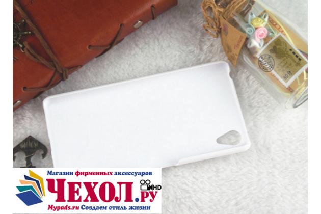 "Задняя панель-крышка-накладка из тончайшего и прочного пластика для sony xperia x performance/ x performance dual 5.0"" (f8131/ f8132) белая"