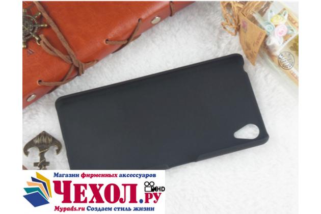 """Задняя панель-крышка-накладка из тончайшего и прочного пластика для sony xperia x performance/ x performance dual 5.0"""" (f8131/ f8132) черная"""