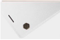 """Премиальный элитный чехол-книжка из качественной импортной кожи с мульти-подставкой и визитницей для sony xperia x performance/ x performance dual 5.0"""" (f8131/ f8132) """"ретро"""" белый"""