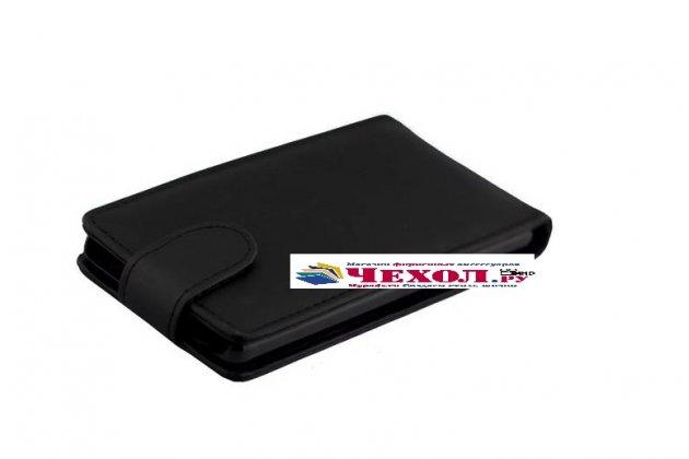 """Вертикальный откидной чехол-флип для sony xperia x / x dual 5.0"""" (f5121 / f5122) черный"""