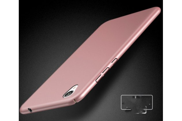 "Задняя панель-крышка-накладка из тончайшего и прочного пластика для sony xperia xa / xa dual 5.0"" (f3113/ f3112 / f3115 /e6533) розовое золото"
