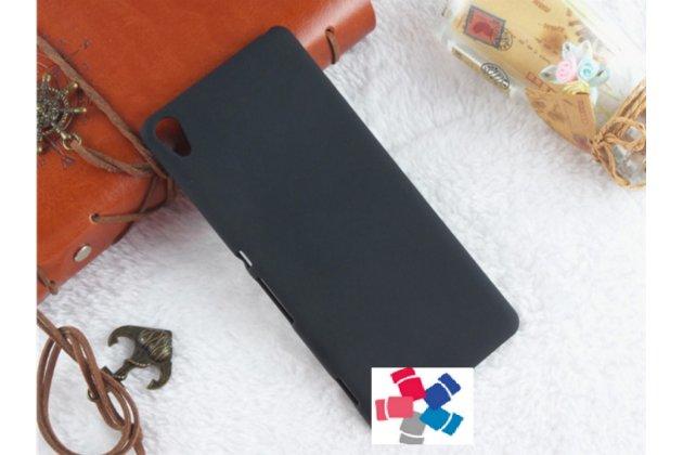 "Задняя панель-крышка-накладка из тончайшего и прочного пластика для sony xperia xa / xa dual 5.0"" (f3113/ f3112 / f3115 /e6533) черная"