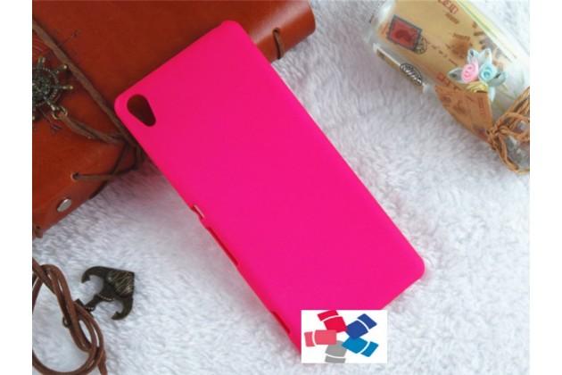 "Задняя панель-крышка-накладка из тончайшего и прочного пластика для sony xperia xa / xa dual 5.0"" (f3113/ f3112 / f3115 /e6533) розовая"