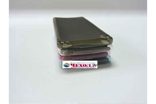 """Ультра-тонкая полимерная из мягкого качественного силикона задняя панель-чехол-накладка для sony xperia xa / xa dual 5.0"""" (f3113/ f3112 / f3115 /e6533) белая"""