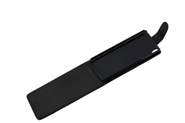 """Вертикальный откидной чехол-флип для sony xperia xa / xa dual 5.0"""" (f3113/ f3112 / f3115 /e6533) черный"""
