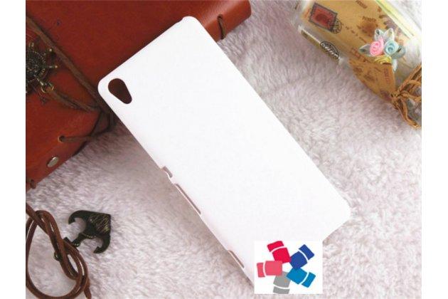"Задняя панель-крышка-накладка из тончайшего и прочного пластика для sony xperia xa / xa dual 5.0"" (f3113/ f3112 / f3115 /e6533) белая"