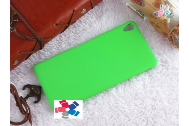 """Задняя панель-крышка-накладка из тончайшего и прочного пластика для sony xperia xa / xa dual 5.0"""" (f3113/ f3112 / f3115 /e6533) зелёная"""