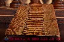 Элегантная экзотическая задняя панель-крышка с фактурной отделкой натуральной кожи крокодила кофейного цвета для sony xperia z4 /z3+ /z3+ dual. только в нашем магазине. количество ограничено.