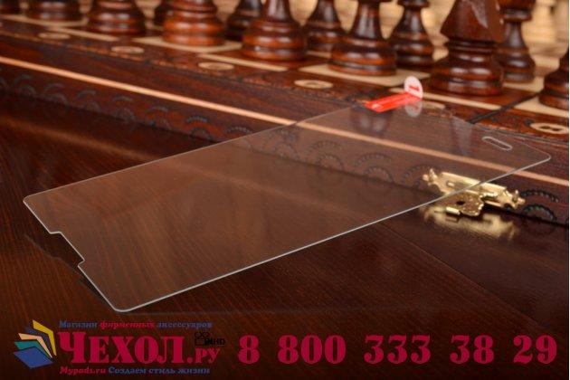 Защитное закалённое противоударное стекло премиум-класса из качественного японского материала с олеофобным покрытием для sony xperia t2 ultra dual d5322