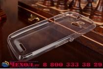 Ультра-тонкая полимерная из мягкого качественного силикона задняя панель-чехол-накладка для sony xperia e4g/ e4g dual e2003/e2033 белая