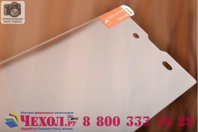 Защитное закалённое противоударное стекло премиум-класса из качественного японского материала с олеофобным покрытием для sony xperia t3 dual d5103
