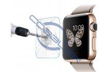 Защитное закалённое противоударное стекло премиум-класса из качественного японского материала с олеофобным покрытием для часов apple watch 42mm