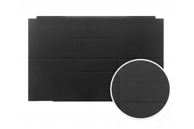 """Чехол со съёмной bluetooth-клавиатурой и тачпадом для teclast x2 pro 11.6"""" черный кожаный + гарантия"""