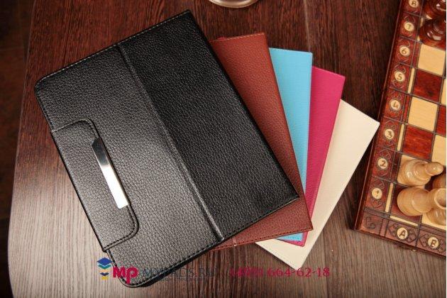 Чехол-обложка для toshiba at300-105 кожаный цвет в ассортименте