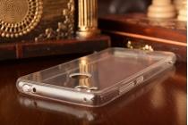 Ультра-тонкая силиконовая задняя панель-чехол-накладка для xiaomi mi 4s прозрачная