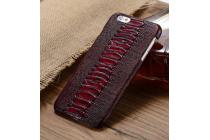 Элегантная экзотическая задняя панель-крышка с фактурной отделкой натуральной кожи крокодила для xiaomi mi 4s. только в нашем магазине. количество ограничено.