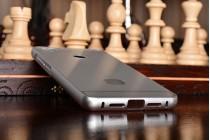 Металлическая задняя панель-крышка-накладка из тончайшего облегченного авиационного алюминия для xiaomi mi 4s серебряная