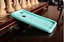 """Необычная уникальная полимерная мягкая задняя панель-чехол-накладка для xiaomi mi 4s  """"тематика андроид в мятном  шоколаде"""""""