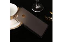 Ультра-тонкая полимерная из мягкого качественного силикона задняя панель-чехол-накладка для xiaomi mi 4s черная