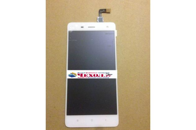 Lcd-жк-сенсорный дисплей-экран-стекло с тачскрином на телефон xiaomi mi 4s белый + гарантия