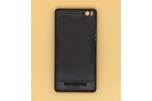Родная задняя крышка-панель которая шла в комплекте для xiaomi mi 4c/xiaomi mi 4i черная