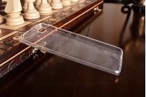 Ультра-тонкая полимерная из мягкого качественного силикона задняя панель-чехол-накладка для xiaomi mi 5s прозрачная