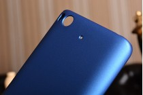 """Задняя панель-крышка-накладка из тончайшего и прочного пластика для xiaomi mi5s 5.15"""" синяя"""