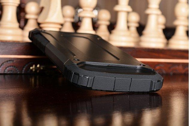 """Противоударный усиленный ударопрочный чехол-бампер-пенал для xiaomi mi5s 5.15"""" черный"""