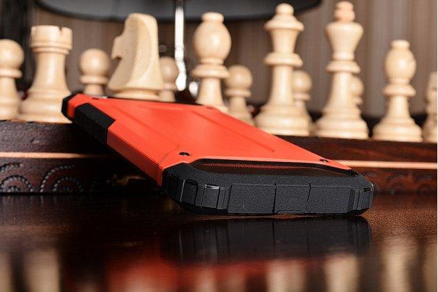 """Противоударный усиленный ударопрочный чехол-бампер-пенал для xiaomi mi5s 5.15"""" красный"""